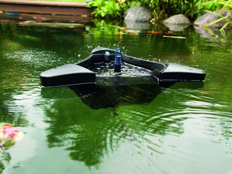 Скиммер для пруда плавающий
